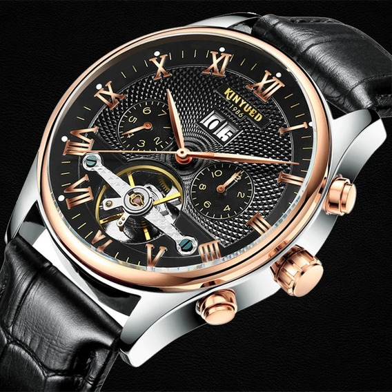 Relógio Automático De Luxo* Masculino/feminino * Kinyued