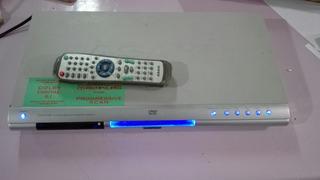 Reproductor De Dvd Asahi Usado. Con Control Remoto.