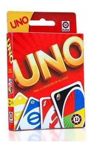 Imagen 1 de 3 de Cartas Uno Mattel Ruibal Original Mejor Precio!!