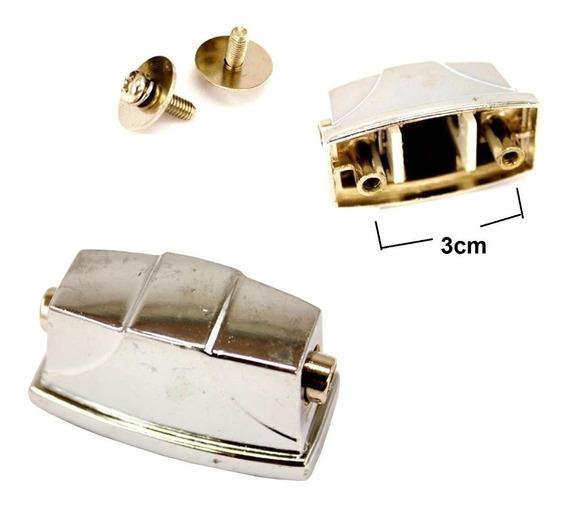 Canoa Quadrada Pequena P/ Caixa De Bateria Kit Com 5