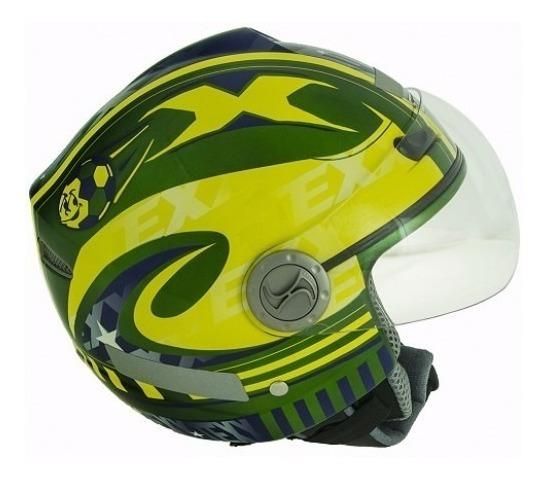 Capacete Aberto Texx Arsenal Plus Brasil