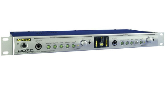Aphex 207d Pre Amplificador De Válvulas (estudios Grabación)