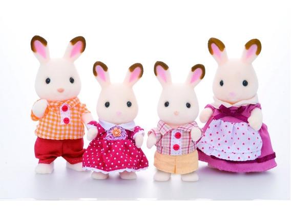Sylvanian Families - Chocolate Rabbit Family (4150)