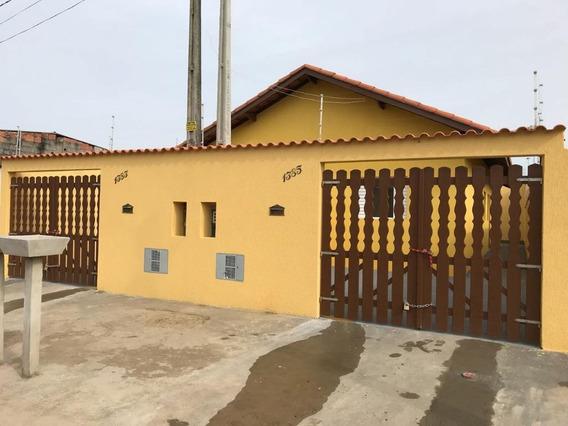Casa Em Jardim Magalhães, Itanhaém/sp De 50m² 2 Quartos À Venda Por R$ 160.000,00 - Ca232608