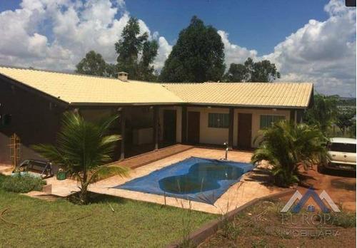 Chácara Com 3 Dormitórios À Venda, 1600 M² Por R$ 350.000,00 - Rural - Alvorada Do Sul/pr - Ch0080