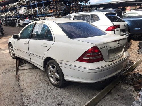 Sucata Mercedes Benz C320 2000/2001 218cvs Gasolina