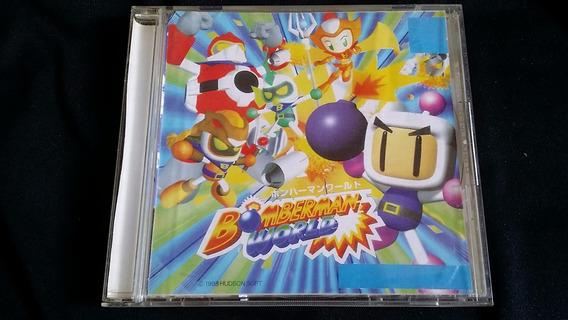 Bomberman World Playstation One Ps1 Psx Prensado Patch Prata