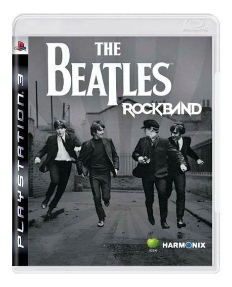 The Beatles Rock Band - Ps3 - Original - Mídia Física Usado