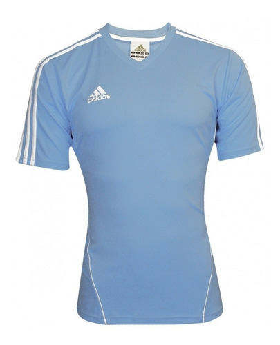 Camiseta Azul Celeste adidas - 100% Poliester
