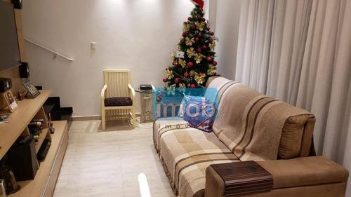 Casa Com 2 Dormitórios À Venda, 103 M² Por R$ 530.000,00 - Marapé - Santos/sp - Ca0529
