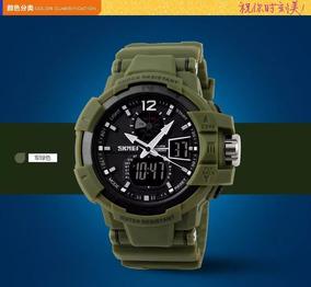 Relógio Esportivo Militar Skmei Verde