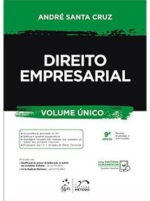 Direito Empresarial - 9° Edição 2019 - André Santa Cruz