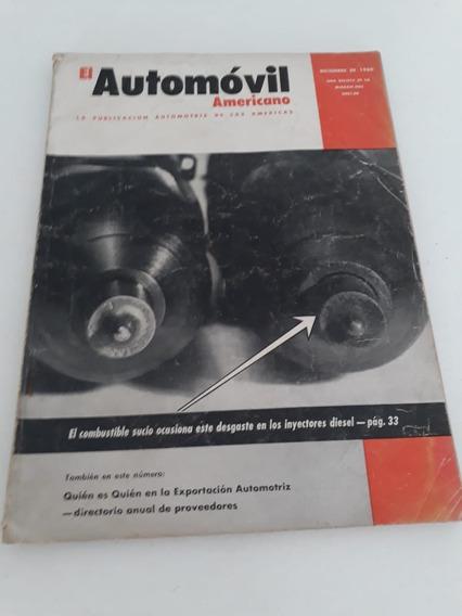Revistas Antiga El Automóvil Americono