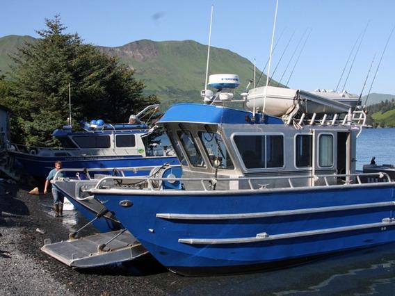 Catamarã Lancha Para Pescaria Mergulho E Outras Aplicações
