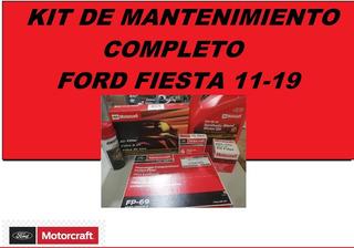 Kit De Manteminiento Ford Fiesta 11-19