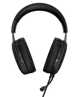 Corsair Hs50 Biauricular Diadema Negro Auricular Con Micrófo