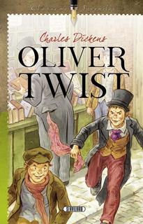 Libro. Oliver Twist. Charles Dickens. Clásicos Juveniles