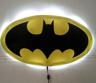 Batman Original, Lampara Led, Decoracion Cuarto De Niños