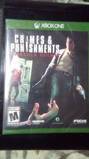 Juego Xbox One Crimes & Punishments Sherlock Holmes