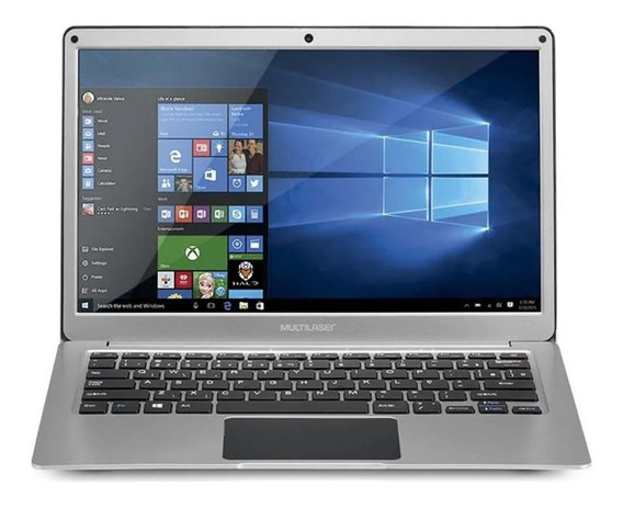 Notebook Intel Celeron N3350 4gb Hd 64gb Win 10 13.3 Fino