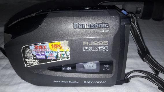 Filmadora Panasonic Palmcoder Rj295br - No Estado (sucata)..