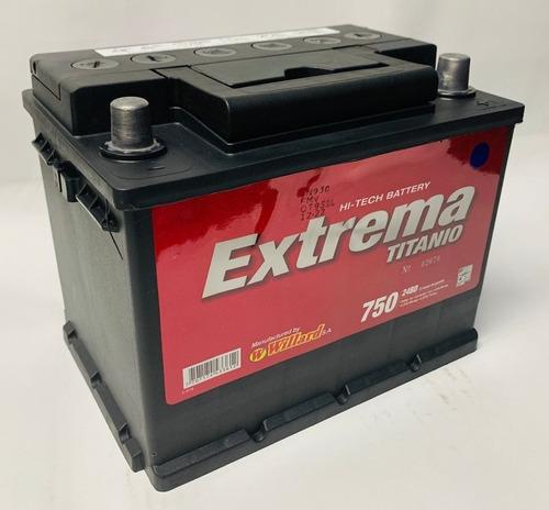 Bateria Willard Extrema 24bd 750 Citroen D15 Tipo Camioneta
