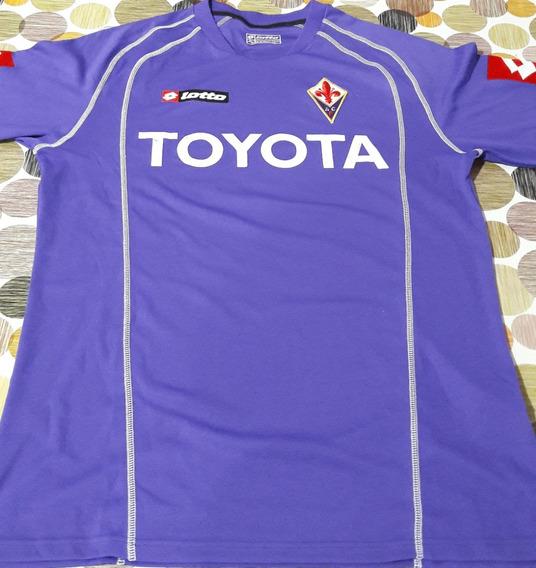 Camiseta Fiorentina De Italia Temporada 2008-2009