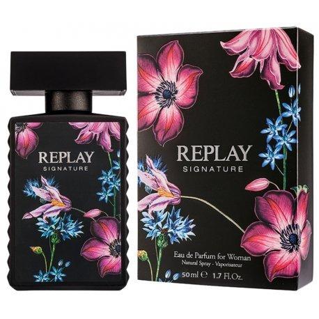 Perfume Replay Signature For Woman Edp F 50ml