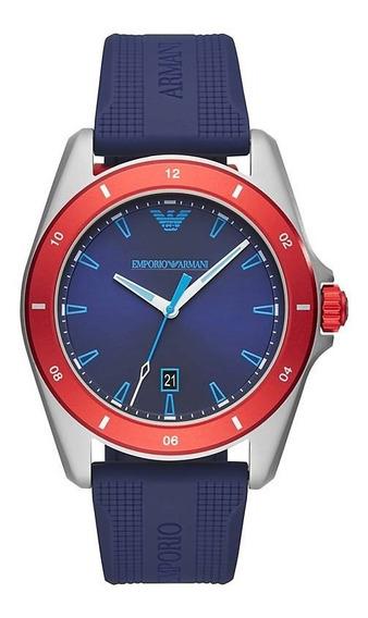 Reloj Armani Hombre Caucho Azul Tienda Oficial Ar11217