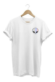 Camiseta Masculina Et Alien Espelhado Tumblr Tshirt