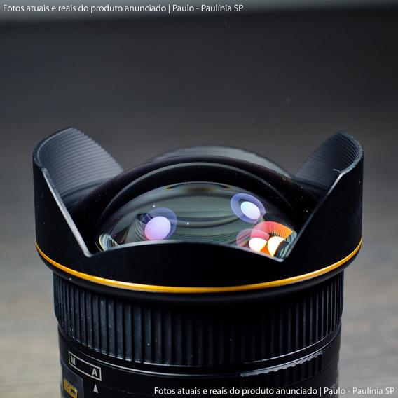 Lente Nikon Af Nikkor 14mm F/2.8d Ed (seminova)