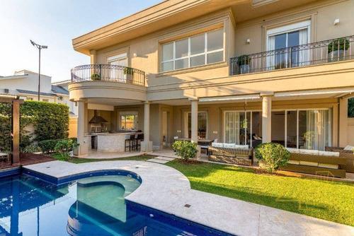 Casa De Condomínio À Venda Em Jardim Acapulco, Guarujá. 560 M², 5 Suítes, Piscina, Jacuzzi, Varanda Gourmet E 4 Vagas. Praia De Pernambuco - Guarujá - Ca0614