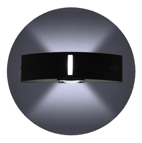 Imagen 1 de 10 de Aplique Pared Led Bidireccional 2 Foco E27-4310 Exterior