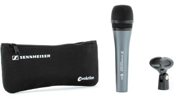 Microfone De Mão Profissional Vocal E-835 - Sennheiser