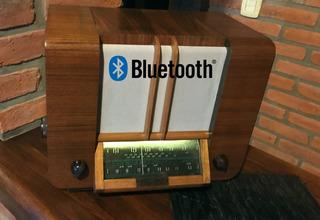 Parlante Bluetooth En Radio Antigua