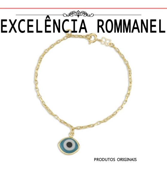 Pulseira Rommanel Berloque Olho Grego 551105