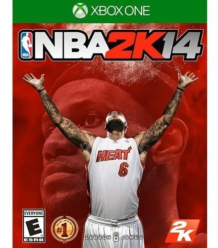 Jogo Xbox One Nba 2k14 - Novo - Lacrado