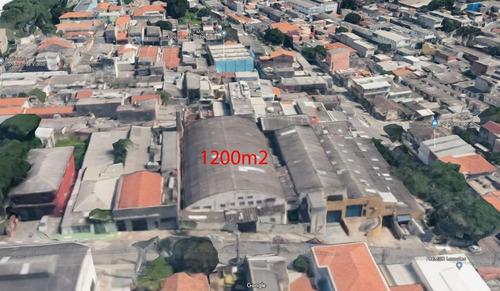 Imagem 1 de 4 de Galpão Comercial Para Venda E Locação, Vila Moraes, São Paulo. - Ga0015