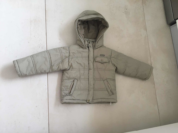 Campera Impermeable Con Capucha Mimo Talle 2