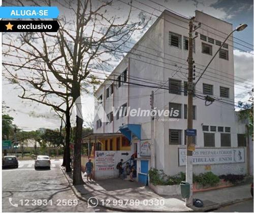 Salão Para Alugar, 118 M² Por R$ 1.500,00/mês - São José Dos Campos/sp - Sl0002