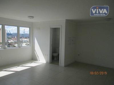 Sala Para Alugar, 40 M² Por R$ 1.300/mês - Centro - Itajaí/sc - Sa0271