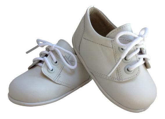 Zapato Bebe Niño Nene 100% Cuero Bautismo/fiesta