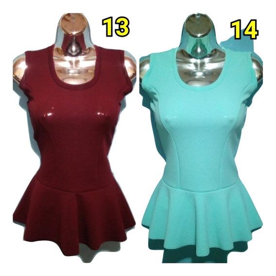 Blusas Piel De Durazno Sueter Dama Crop Tops Camisas De Moda