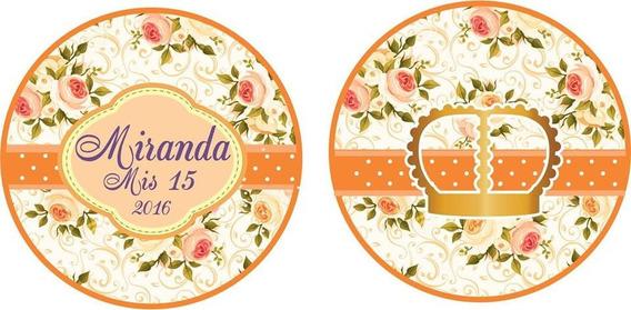Plancha Stickers Personalizados. Cortados X3 Planchas