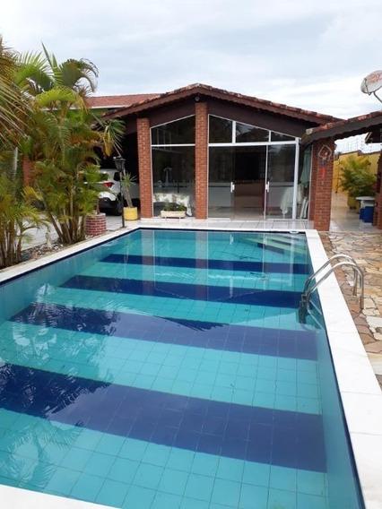 Casa Em Cibratel Ii, Itanhaém/sp De 200m² 3 Quartos À Venda Por R$ 400.000,00 - Ca315548