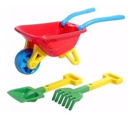 Big Carriola Infantil Dobrável Com Acessórios Magic Toys