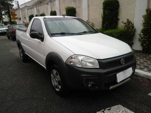 Fiat Strada Hard Working Cs 1.4 Flex 2017 Completo