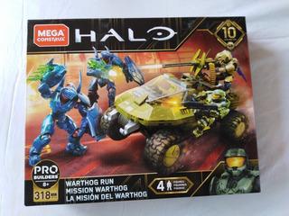 Warthog Run Halo 10 Aniversario Mega Construx Ultimo
