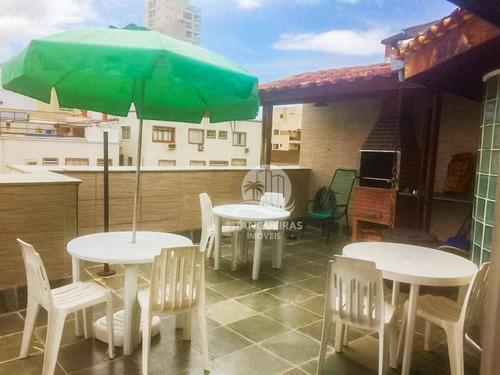 Enseada - Cobertura - 135 M² Úteis - Terraço Com Churrasqueira - 01 Vaga. - Co0255