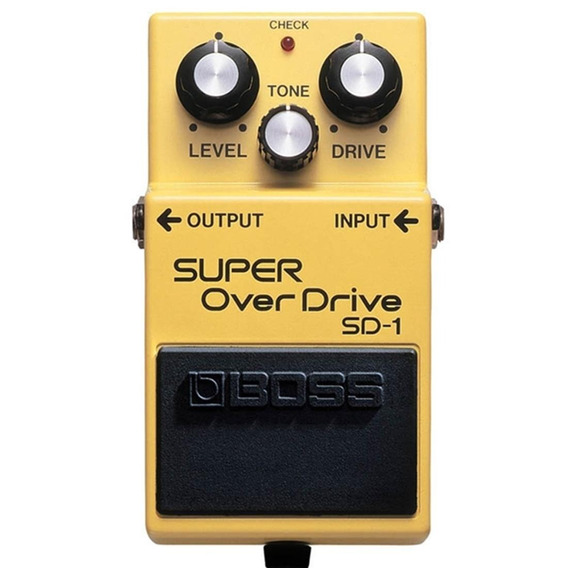 Pedal Boss Sd-1 Super Overdrive Sd1